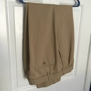 Men's tan dress pants size W40x30L